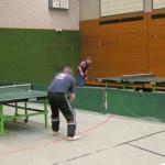 Punktspiel der 2. Herrenmannschaft gegen Rutesheim.