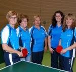 Unsere Damenmannschaft.